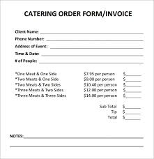 Catering Invoice Example Free 17 Catering Invoice Samples In Google Docs Google