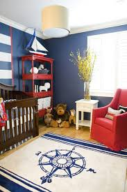 ba nursery nautical ba room idea with dark brown wooden crib and inside nautical nursery rug intended for warm