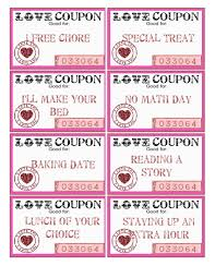 Free Valentine Downloads Such A Great Idea Love Coupons