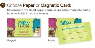 tie dye business cards paper or magnetic business cards animalsink