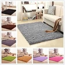 modern area rugs ultra soft fluffy carpet living bedroom home decorate mat