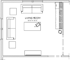 Living Room Floor Plans  Modern HDPlan Of Living Room