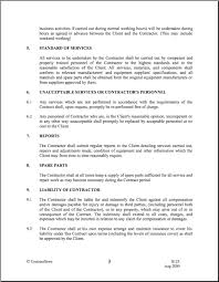 Service Provision Agreement Template Provision Of Services Agreement ...