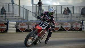 pro flat track racing boasts left turns only at 140 miles an hour