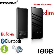 Btsmone <b>new</b> version touch screen <b>slim mp3 player</b> Built in ...