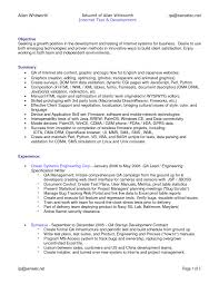 Qa Tester Resume Sample cover letter software testing resume samples software testing 67
