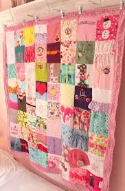 A CUSTOM memory blanket that is created from your babys clothes ... & Custom Baby Clothes Quilt 64 Block Memory Blanket by MaidenJane Adamdwight.com