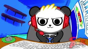 Combo Panda Roblox Coloring Pages