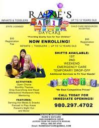 92 Best Daycare Images Flyer Template Day Care Centers Daycare Ideas