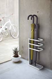 the outrageous awesome wood coat rack with umbrella stand image