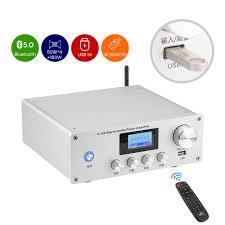 5,1 AV Digtal Audio Power Verstärker 2*100W + 4*50W Subwoofer Verstärker  HDMI4K DTS Decoder verstärker Verlustfreie Musik USB Wiedergabe - 20% OFF
