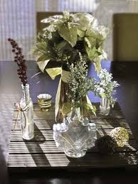 the trickier way requires spray painting the inside faux mercury glass vases centerpiece