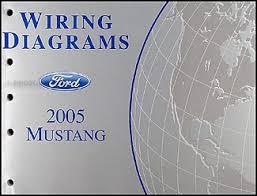 2005 ford mustang wiring diagram manual original