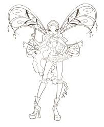 Small Picture Winx Club Coloring Pages
