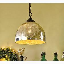 pb hanna etched mercury glass pendant light fixture diy tutorial shine your via eliminator ribbed dome of geodesic elimination make mount double replacement