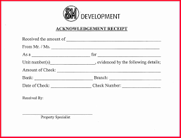 Cash Acknowledgement Receipt Sample Of Certification Of Employment