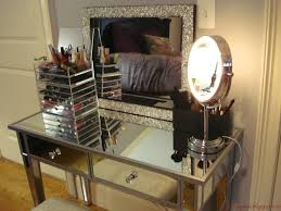 mirrored vanity furniture. Hayworth Furniture Collection With Luxury Makeup And Storage Of Mirrored Vanity O