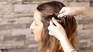 side braid your own hair for beginners