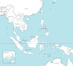 free maps of asean and southeast asia up map with countries