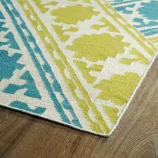 wellsuited turquoise and yellow rug inspiring rugs carpet cool kaleen glam area on