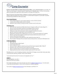 School Counselor Resume Sample Camp Counselor Resume Resumes For College Students Sales School 39