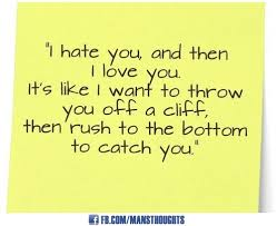 Love And Hate Quotes Delectable Love Hate Relationship Quotes Shared By Mansthoughts