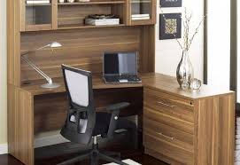 image of locking computer desk armoire