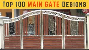 Gate Designs Photos Top 100 Main Gate Designs For Modern Homes 2018 Plan N
