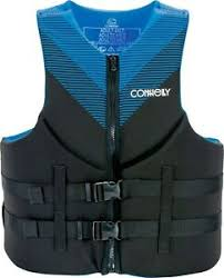 Details About Connelly Promo Tall Neoprene Life Vest 2020 Blue