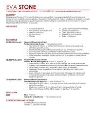 resume summary sample finance coverletter for job education resume summary sample finance 67 sample resume summary statements about experience financial advisor resume example finance