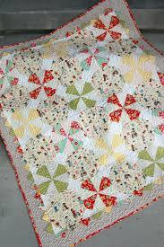 Make This: Prairie Pinwheel Baby Quilt Tutorial & Prairie Pinwheel Baby Quilt Adamdwight.com
