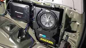2003 2009 toyota 4runner 4 channel amp and sub install youtube 3rd Gen 4Runner at 4th Gen 4runner Wiring Diagram