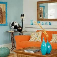 Perfect Bedroom Decorating Ideas Blue And Orange Sedgwick L