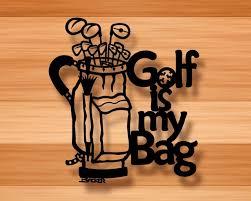 golf is my bag wall decor 3d metal wall art on golf wall art near me with golf is my bag wall decor 3d metal wall art contemporary