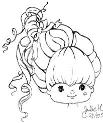 Small Picture Coloring Pages Rainbow Brite Coloring Pages Bestofcoloring