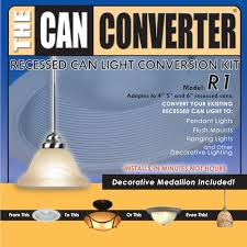 6 inch can light conversion kit