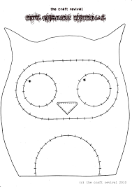 Owl Pillow Pattern Owl Pincushion Template You Could Use This To Make A Felt Hair