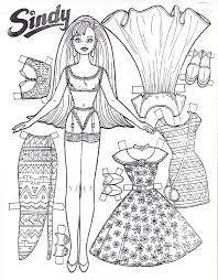Small Picture coloring page prince and princesses paper doll Free Printable