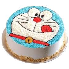 Doraemon Cartoon Cake Winni