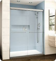 fleurco el161 banyo cordoba bypass plus 61 semi frameless sliding shower doors