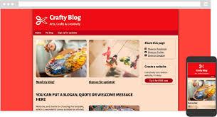 online free website creation simplesite com