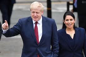 Priti Patel: Boris Johnson Has One Other Problem to Contain - Bloomberg