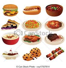american food clipart. Delighful Clipart American Food Icons  Csp17507614 To Food Clipart