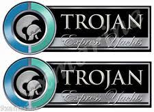 trojan boat parts two trojan boat remastered plate decals generic