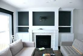 built in shelves around fireplace fireplace building