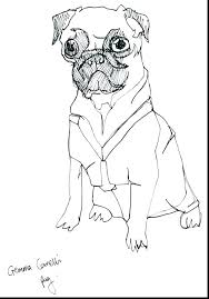 pugs coloring pages pug coloring page good pug coloring pages best of printable free page to
