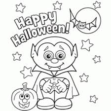 Free Halloween Coloring Pages Little Vampire Free N Fun