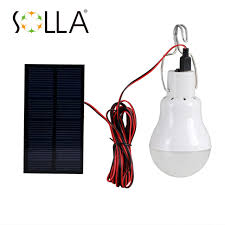 solla 3pcs lot solar led emergency light rechargeable battery lighting lamp for home indoor lighting