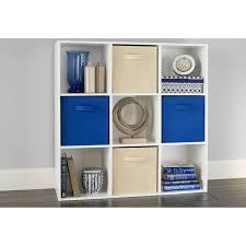 closetmaid cube storage closetmaid cubeicals 9 organizer white com