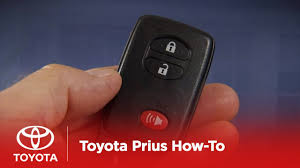 2010 Prius How-To: Smart Key System - Overview | Toyota - YouTube